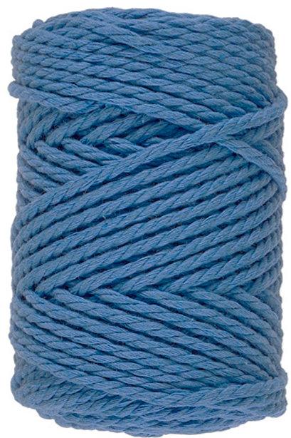 Lammy Yarns - Macrame 8 - 040 Blauw