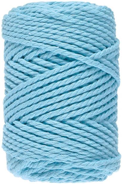 Lammy Yarns - Macrame 8 - 062 Licht Aqua Blauw