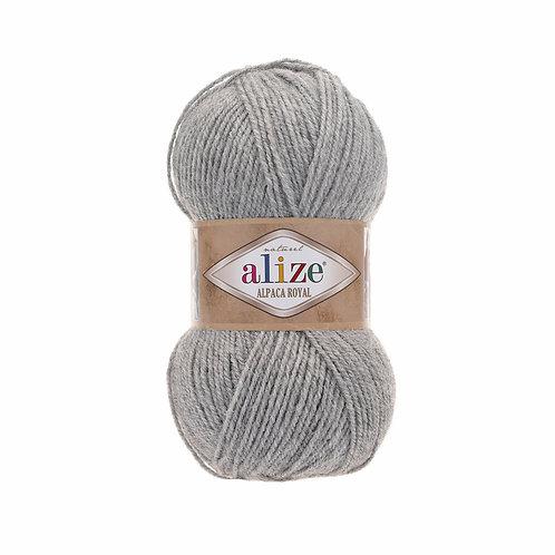 Alize Alpaca Royal Grey Melange 21