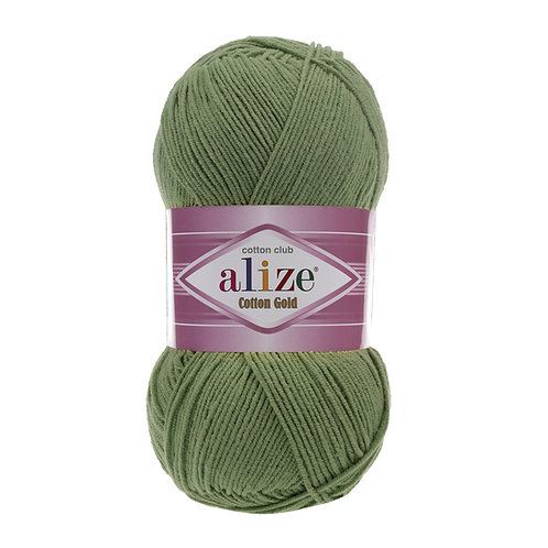 Alize Cotton Gold Green 485