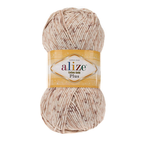 Alize Cotton Gold Plus Tweed 6841