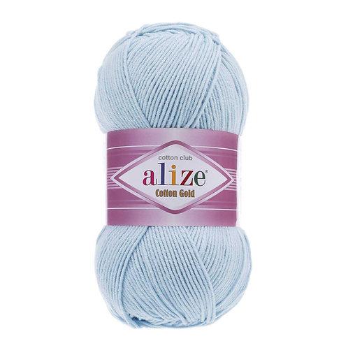 Alize Cotton Gold Crystal Blue 513