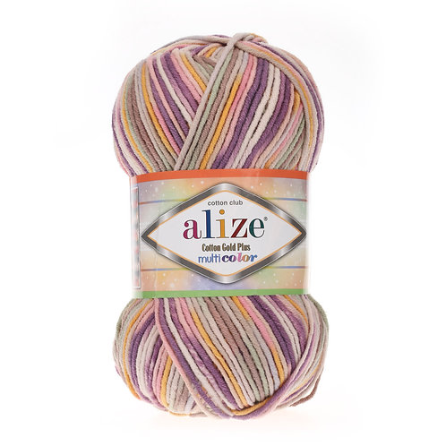 Alize Cotton Gold Plus Multi Colour 52197