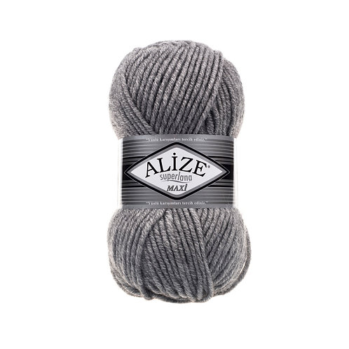 Alize Superlana Maxi Grey Melange 21