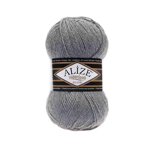 Alize Superlana Klasik Grey Melange 21