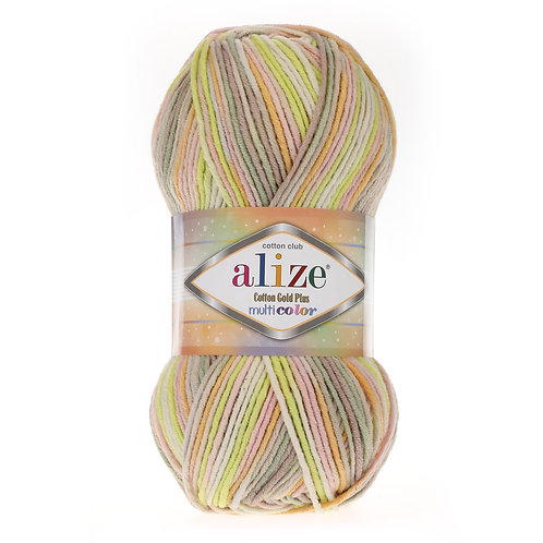 Alize Cotton Gold Plus Multi Colour 52177