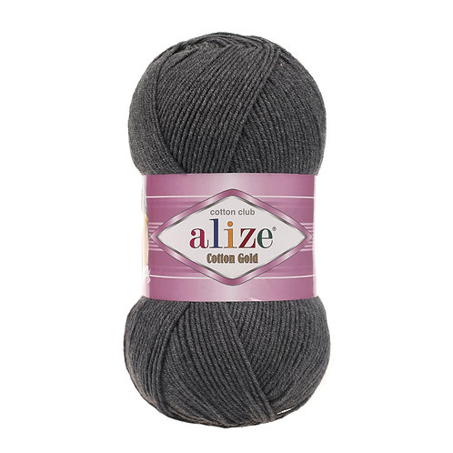 Alize Cotton Gold Dark Grey Melange 182