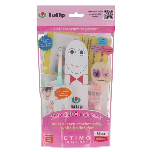 Tulip Etimo Kids Grand-Chan Haaknaalden Set 8.00mm