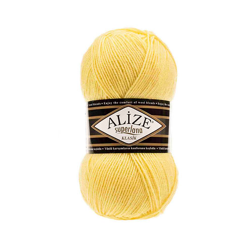 Alize Superlana Klasik Lemon 187