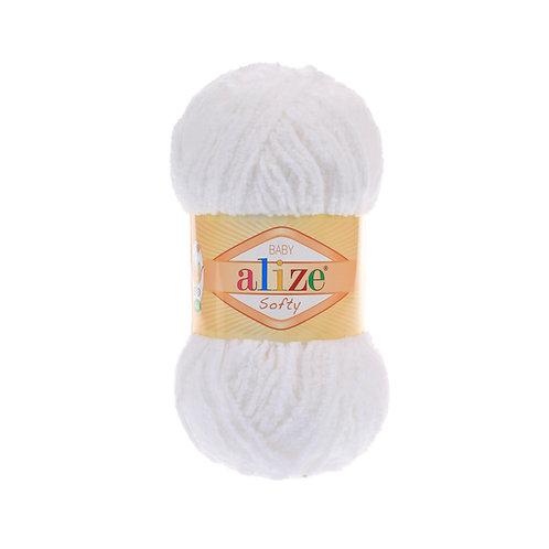 Alize Softy White 55