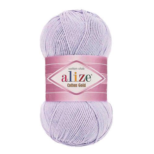 Alize Cotton Gold Lavender 682