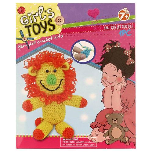 Haakpakket Amigurumi voor Kinderen Leeuw