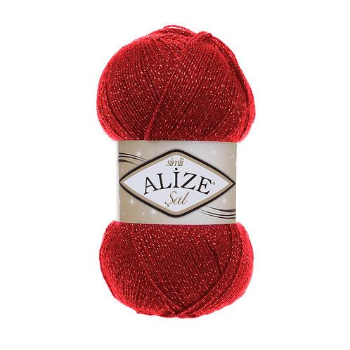 Alize Sal Sim Red 56