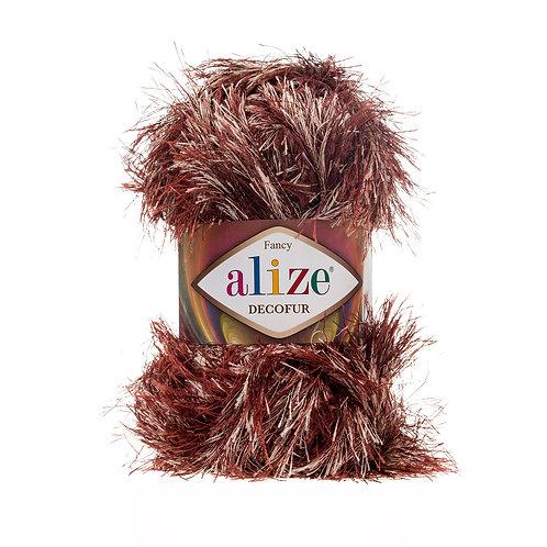 Alize Decofur Brown-Beige 1365