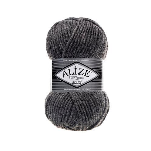 Alize Superlana Maxi Medium Grey Melange 182
