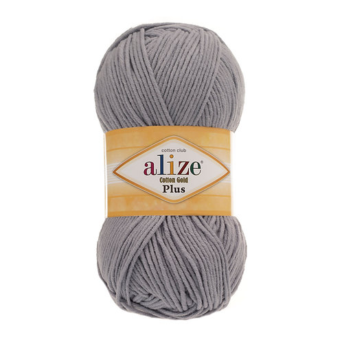 Alize Cotton Gold Plus Grey Melange 21