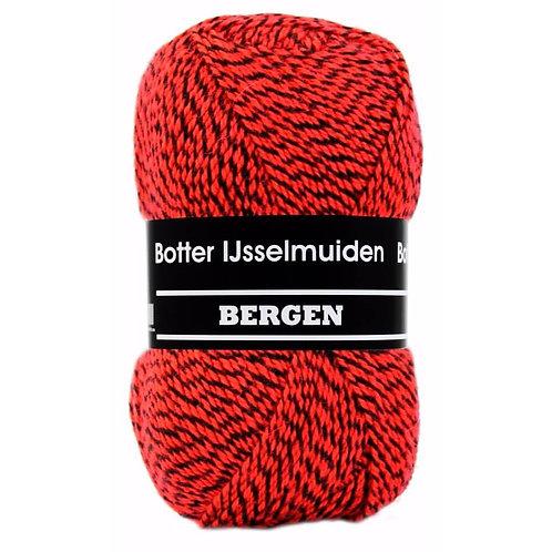 Botter Bergen Rood Zwart 160