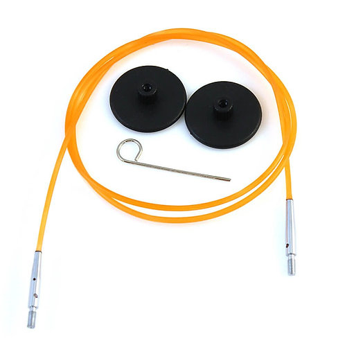 Knitpro Kabel voor Rondbreinaald 80 cm Oranje
