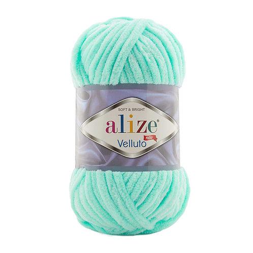 Alize Velluto Light Turquoise 19