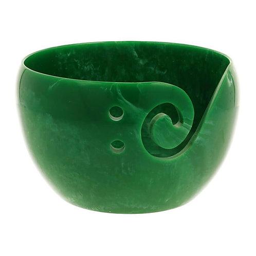 Scheepjes Yarn Bowl Parelmoer Effect Groen 13 x 8 Cm