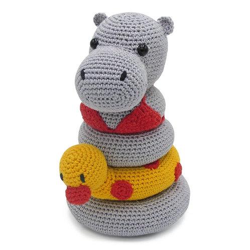 Hardicraft Haakpakket Amigurumi Helga Hippo