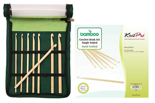 KnitPro Bamboo Haaknaaldenset 8 Maten