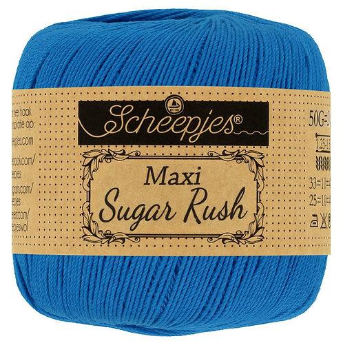Scheepjes Maxi Sugar Rush Electric Blue 201