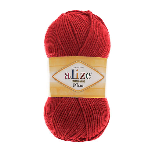Alize Cotton Gold Plus Red 56