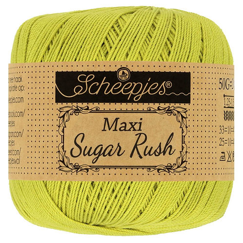 Scheepjes Maxi Sugar Rush Green Yellow 245
