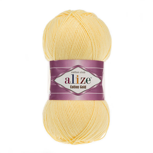 Alize Cotton Gold Light Yellow 187