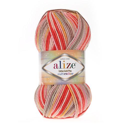 Alize Cotton Gold Plus Multi Colour 52198