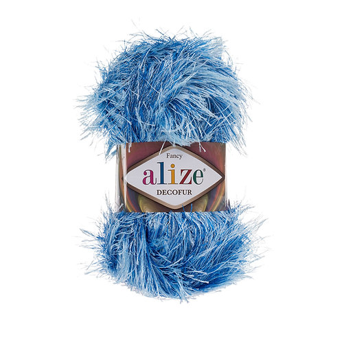 Alize Decofur Bleu-Light Bleu 1370