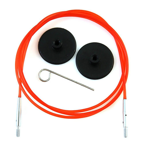 Knitpro Kabel voor Rondbreinaald 100 cm Rood
