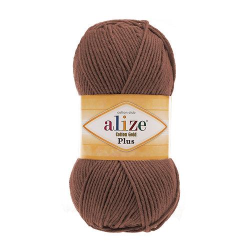 Alize Cotton Gold Plus Brown 493