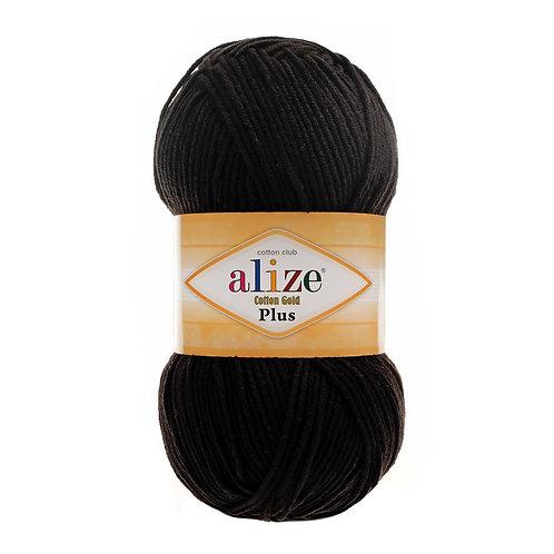 Alize Cotton Gold Plus Black 60