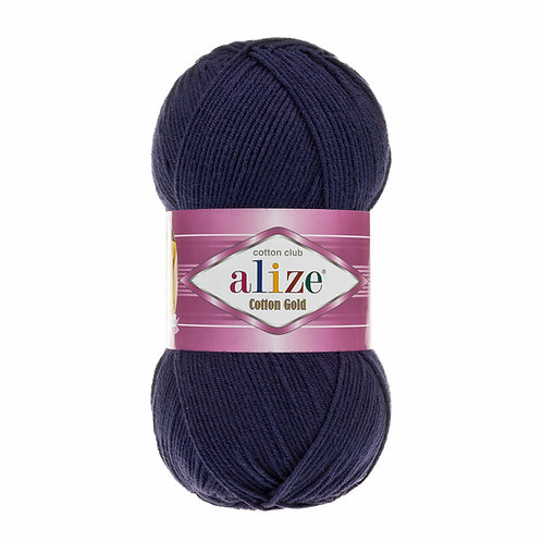 Alize Cotton Gold Navy 58