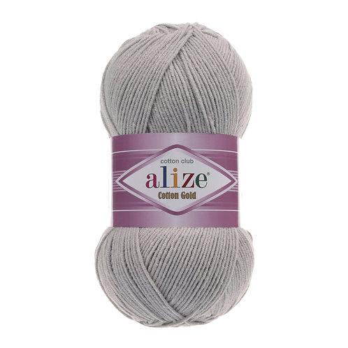 Alize Cotton Gold Grey Melange 21