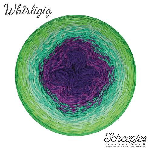 Scheepjes Whirligig 208 Green To Purple