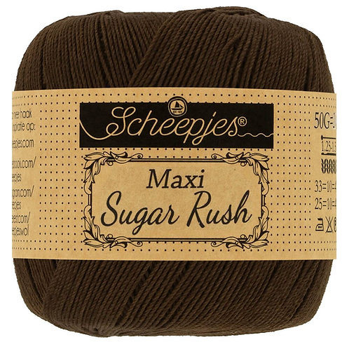 Scheepjes Maxi Sugar Rush Black Coffee 162
