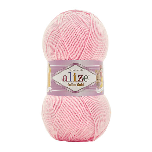 Alize Cotton Gold Ballerina Pink 518