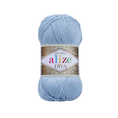 Alize Diva Sea Blue 350