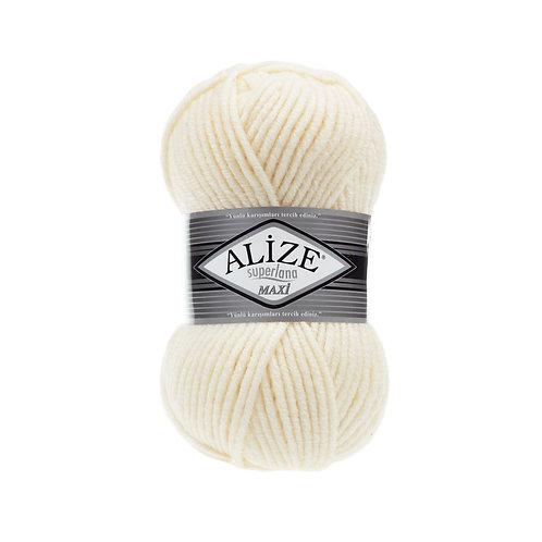 Alize Superlana Maxi Cream 01