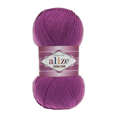 Alize Cotton Gold Plum 122
