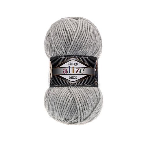 Alize Superlana Midi Light Grey 208