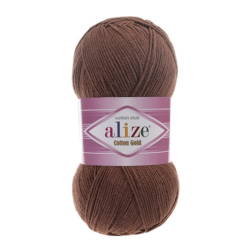 Alize Cotton Gold Brown 493