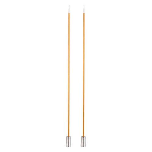 Knitpro Zing Breinaalden met Knop 40 Cm 2.25 mm
