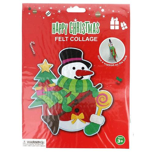 Vilt Pakket voor Kinderen Sneeuwpop