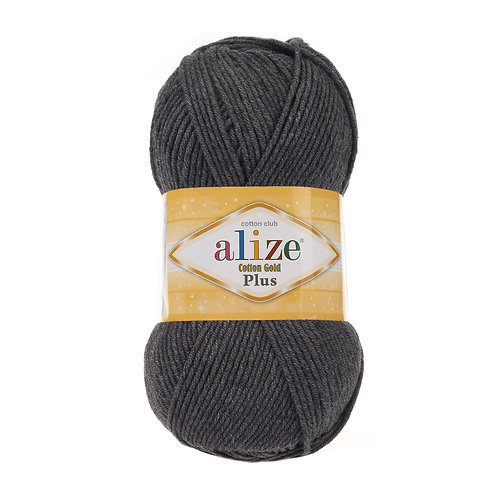 Alize Cotton Gold Plus Dark Grey Melange 182
