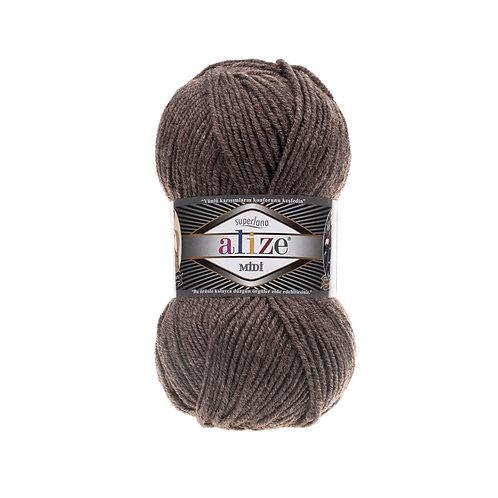 Alize Superlana Midi Brown Melange 240