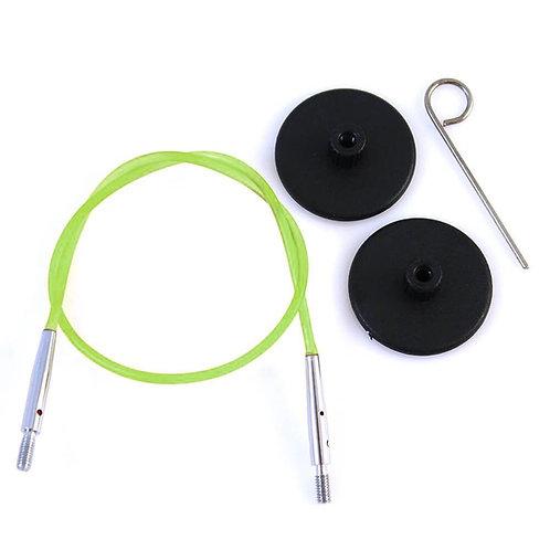 Knitpro Kabel voor Rondbreinaald 60 cm Groen